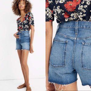MADEWELL The Perfect Jean Short in Ullman Wash